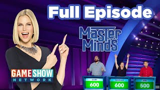 Master Minds | FULL EPISODE | Game Show Network