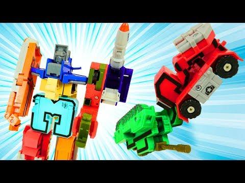 Игрушка ТРАНСФОРМЕР 👍 Собираем МЕГАРОБОТа из цифр (машинки ТРАНСБОТЫ)   Игры и игрушки для мальчиков