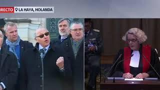 Reacciones de Chile por alegatos de Bolivia ante corte de la Haya