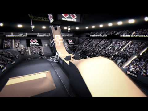 X Games Barcelona 3D venue video