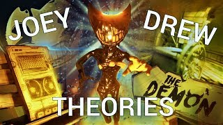 EVERYTHING we know about Joey Drew! (Bendy & the Ink Machine Theories)