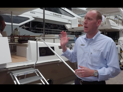 Carbon Fiber Infused: 2017 Azimut 72 Flybridge at the Miami Boat Show