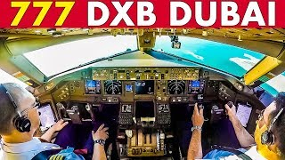 Piloting the BOEING 777 out of DUBAI INT'L