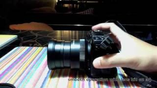Canon G12 with Filter Adapter and Lens Kit