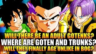 Dragon Ball Z Revival of F: Goten & Trunks Missing? Adult Gotenks? Older than Battle of Gods?