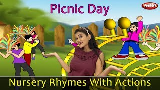 Picnic Day Song With Actions | Nursery Rhymes For Children | Pre School Learning | Action Songs