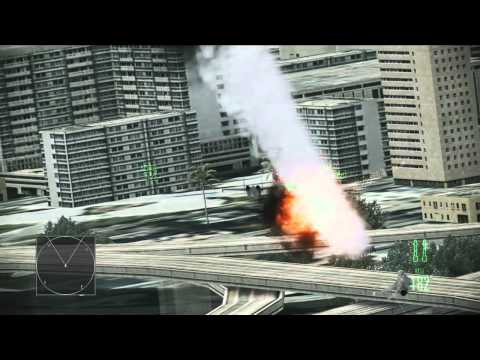 Ace Combat: Assault Horizon – Fly-Through