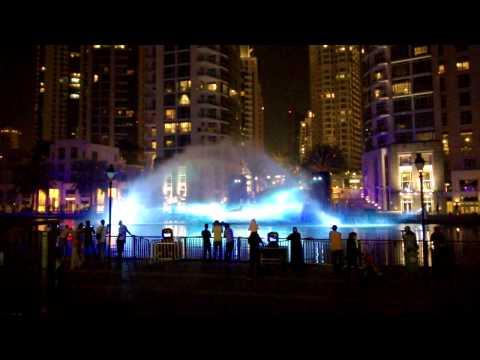 """Whale show - """"Dubai Festival of Lights"""" 2014 show"""