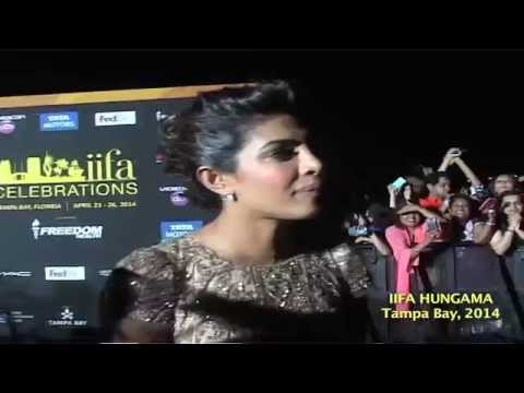 Priyanka Chopra At Green Carpet Of IIFA Awards Tampa Bay