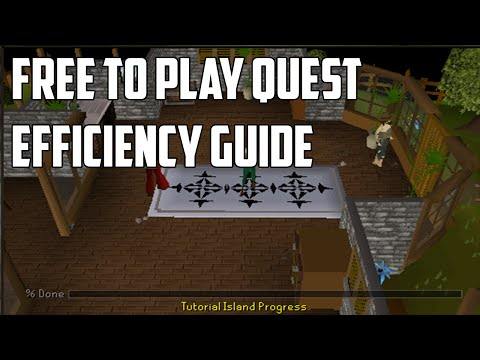 Oldschool Runescape F2P Quest Efficiency Guide – Speedrun All F2P Quests