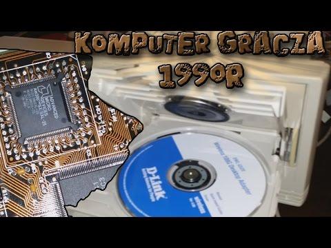 KOMPUTER DLA GRACZA 1990 R // 386 Składamy Stary Komputer // Marzenie Gracza Z 1990 R