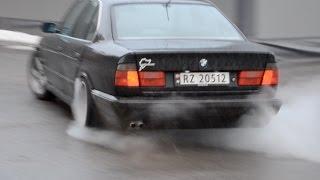 BMW E34 525 DRIFTING TRAILER !