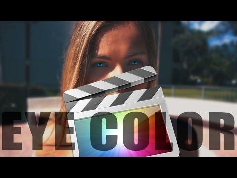 Change Eye Color - Final Cut Pro X