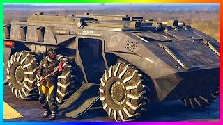 GTA ONLINE NEW WEAPONIZED VEHICLES, HIGH-POWERED GTA 5 MILITARY DLC GEAR, SUPER CARS & MORE! (QNA)