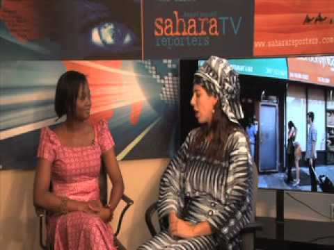 Titilayo Oyinbo In The Studio With Saharatv video