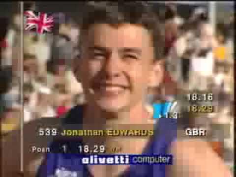 Record del Mundo Triple salto