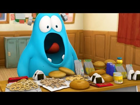 Spookiz | Frankie Eat Too Much Food 스푸키즈 | Funny Animated Cartoon | Cartoons for Children