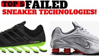 Top 5 FAILED Sneaker Cushioning Technologies!