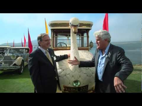 Pebble Beach 2012: 1910 Brooke Swan Car - Jay Leno's Garage