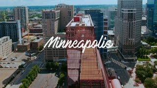 Aerial drone footage - Minneapolis, MN
