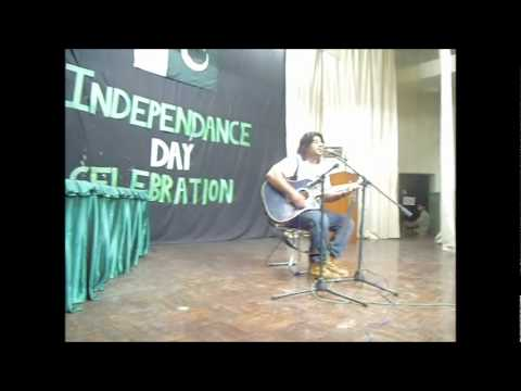 Lagan lagi tumse man ki lagan - Riz Rizwaan (live at KC 2011...