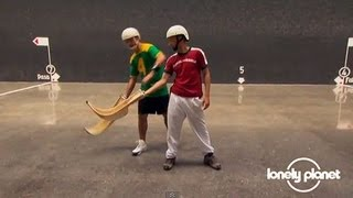 How to play Basque pelota - Lonely Planet travel video