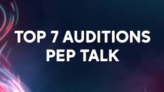 American Idol Auditions Pep Talk with the Top 7 - American Idol on ABC