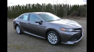 2018 Toyota Camry LE Auto - Car Review & Price