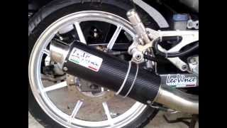 Yamaha 135LC with Leo Vince GP Corsa Exhaust System (no DB Killer)