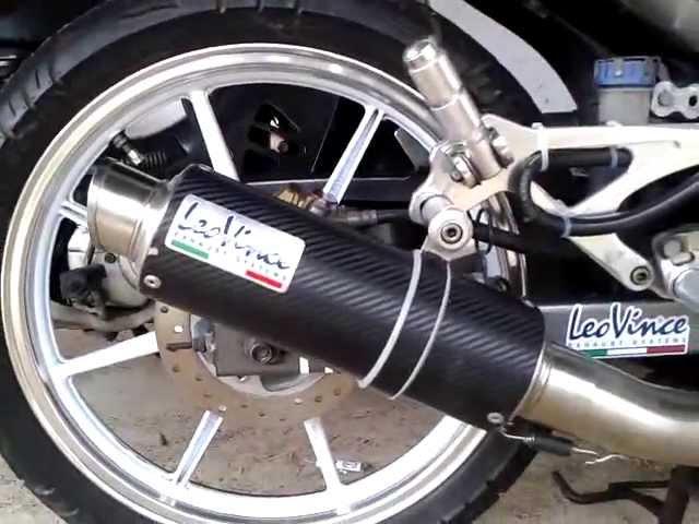 Yamaha 135LC with Leo Vince GP Corsa Exhaust System (no DB Killer)