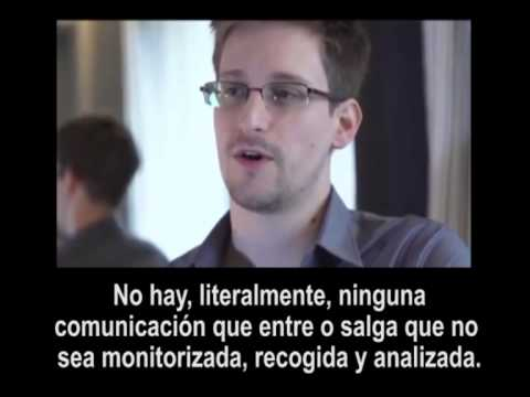 Edward Snowden - Segunda Parte - Subtitulos Español