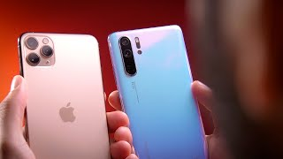 iPhone 11 Pro vs. Huawei P30 Pro: ULTIMATE Camera Comparison