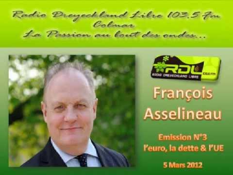 """François Asselineau """"Histoire de la dette de la France, de l euro et de l UE"""" - N° 03 - 5/03/2012"""