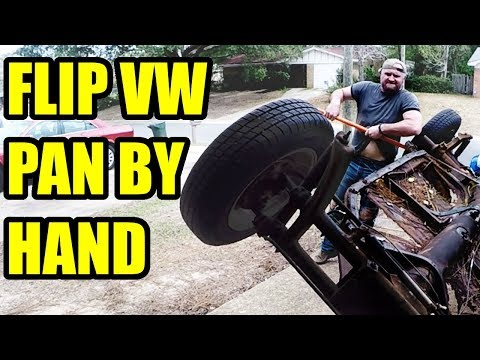 Flip VW Pan by Hand