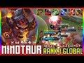 Troll Build Or New Meta? [Gazi | LazkopaT] Top 1 Global Minotaur Mobile Legends Gameplay
