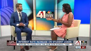 Interest rate increase on student loans