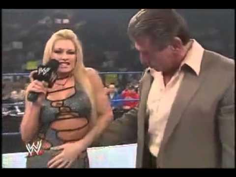 Vince and Sable kiss