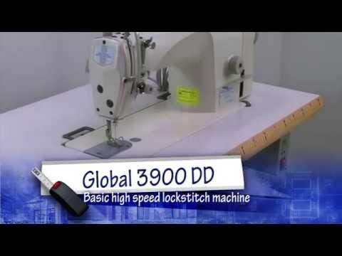 Global 3900 series - Machines à coudre rapide industrielles a point noués