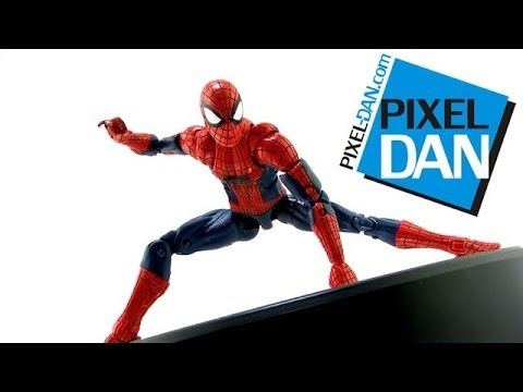 Hasbro Marvel Legends Infinite Series Amazing Spider-Man Figure Video Review