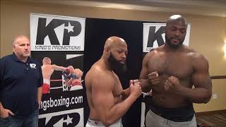 King's Promotions weigh in Feb 12, 2018