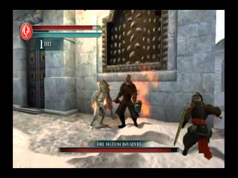 The Last Airbender Movie Game Walkthrough Part 7:2 (Wii)