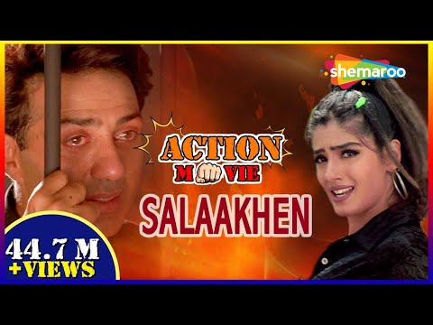 Salaakhen {HD} - Hindi Full Movie - Sunny Deol - Raveena Tandon - Bollywood Action Movie thumbnail