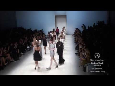 GAIL SORRONDA: MERCEDES-BENZ FASHION WEEK AUSTRALIA SS 2014/2015
