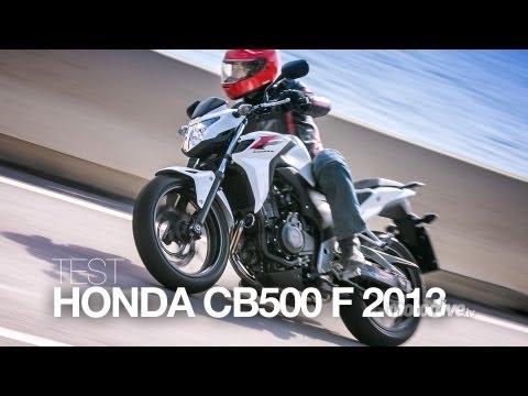 TEST EXCLUSIF   HONDA CB 500 F 2013. une légende au goût du jour