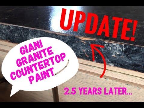 Giani Granite Countertop Paint UPDATE! 2.5 years later!