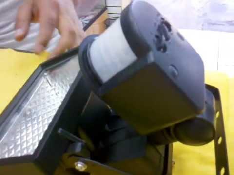 Sensor de movimiento con halogeno motion sensor halogen - Sensor de movimiento luz ...