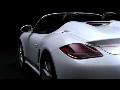 2011 Porsche Boxster Spyder Press Release Film