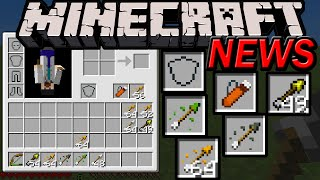 Minecraft 1.9 News: Shields! Quiver! 4 New Arrow Types, Secret Combat Update Features Image Released