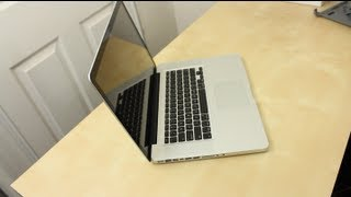 2012 15 Inch MacBook Pro (Unboxing And Tour)