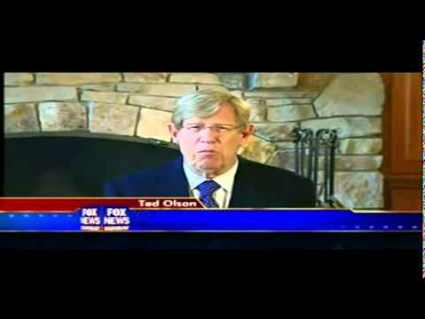 Part 1 Gay Marriage Attorney Ted Olson On 'fns' Full Interview - Foxnews Hq.mp4 video